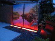 LED Umrandungs Leuchte 180° Abstrahlwinkel 1,00 m rot inkl. Netzteil
