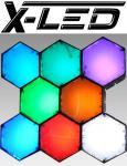 X-LED New York 8 Module mit IR Fernbedienung