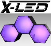 X-LED RENO3 RGB Controll RGB + IR-Fernbedienung + 2xErweit.