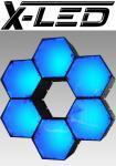 X-LED RENO6 RGB Controll RGB + IR-Fernbedienung + 5xErweit.