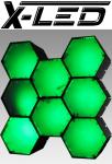 X-LED RENO8 RGB Controll RGB + IR-Fernbedienung + 7xErweit.