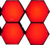 X-LED San Diego 4er Fluter mit Netzteil, rot