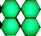 X-LED San Diego 4er Fluter mit Netzteil, grün