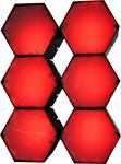X-LED San Diego 6er Fluter mit Netzteil, rot