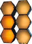 X-LED San Diego 6er Fluter mit Netzteil, gelb