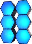 X-LED San Diego 6er Fluter mit Netzteil, blau