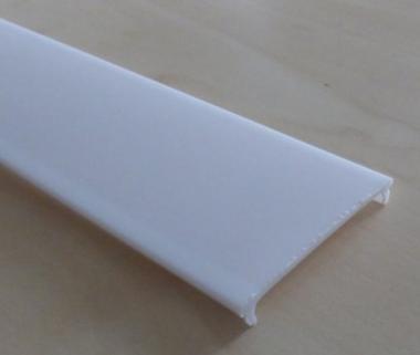 Aluprofil Abdeckung einclipsbar 2m f. 16mm Profil transparent