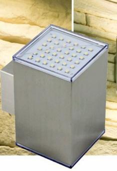 kubus2 led wandleuchte oben unten leuchten und lampen au enleuchten led lampen. Black Bedroom Furniture Sets. Home Design Ideas