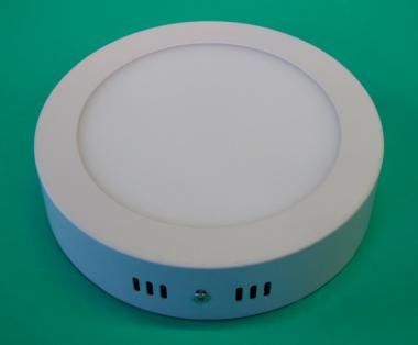 led aufbau lampe rund 12 watt 880 lumen 170mm neutralwei leuchten und lampen innenleuchten. Black Bedroom Furniture Sets. Home Design Ideas