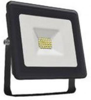 LED Fluter 10 Watt flach 600 Lumen warmweiß Gehäuse schwarz