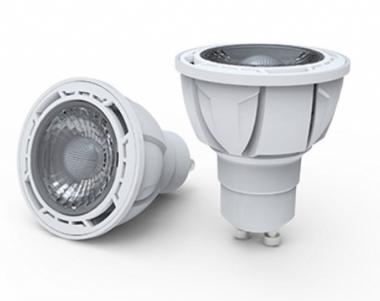 led lampe dimmbar 7 watt 520 lumen dimmbar gu10 30 abstrahlwinkel kaltwei gu10. Black Bedroom Furniture Sets. Home Design Ideas