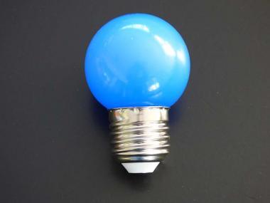 LED Leuchtmittel Tropfen E27 1 Watt blau