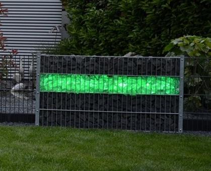 Gabionen LED Leuchte 360° Abstrahlwinkel 1,40 m grün inkl. Netzteil