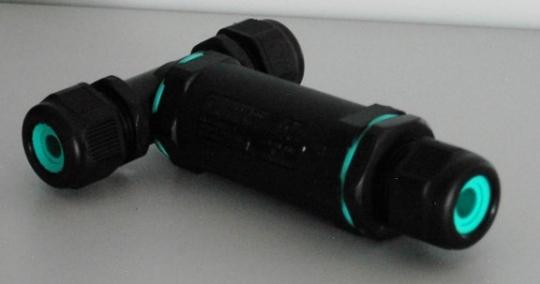 Kabelverbinder T-Stück 5 poligIP68Ø 30 mm