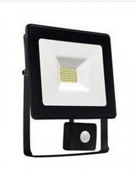 LED Außen-Fluter mit Bewegungsmelder warmweiß 10 Watt IP44
