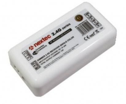 LED 4 Zonen Empfänger - Controller für Dimmung einfarbige LED-Bänder