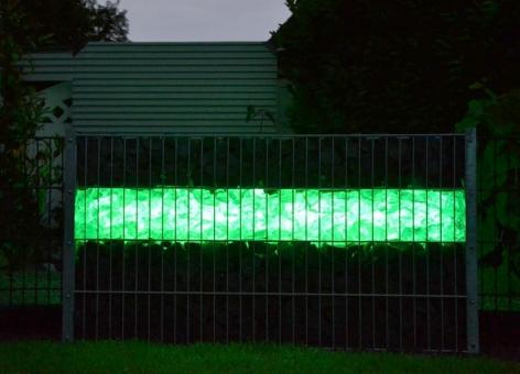 LED Gabionen-Leuchte 360° Abstrahlwinkel 1 m grün inkl. Netzteil