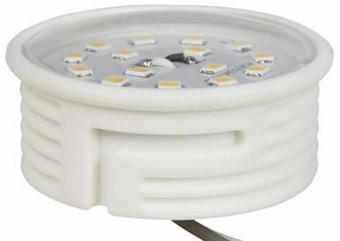 LED Lampe DIMMBAR flache Bauform 5 Watt warmweiß 230V Anschluss