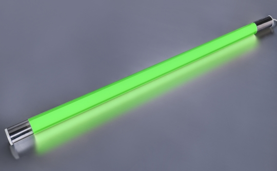 LED Leuchtstab grün 10 Watt 900 Lumen 63cm Schnur-Schalter IP20