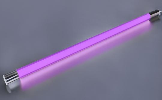 LED Leuchtstab violett 10 Watt 900 Lumen 63cm Schnur-Schalter IP20