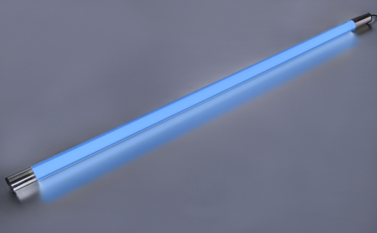 LED Leuchtstab 18 Watt 1800 Lumen 123 cm IP44 blau