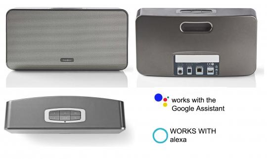 SMART Multi Raum-Lautsprecher 150 Watt Power - APP steuerbar oder Sprache ALEXA/Google