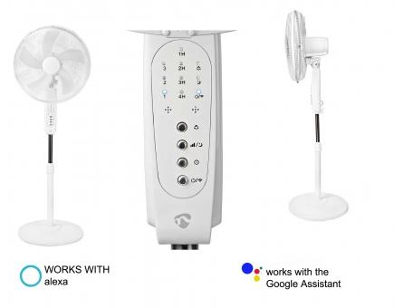 SMART WiFi Stand Ventilator APP und Sprach-Steuerung z.B. Alexa