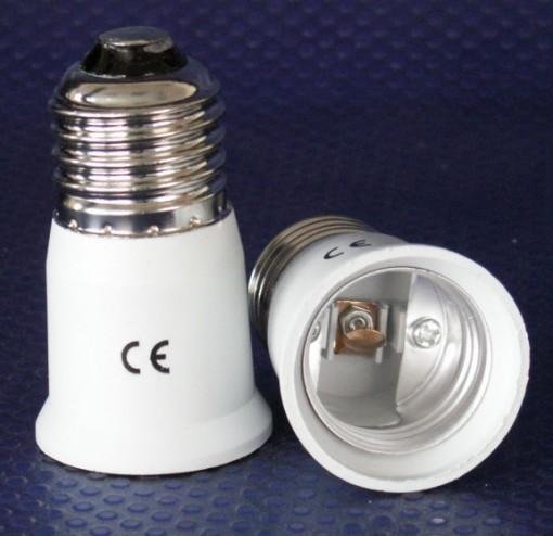 80 x Adapter zur Verlängerung von E27 auf Sockel E27