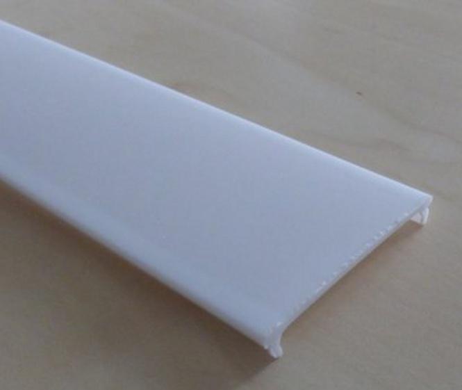 Aluprofil Abdeckung einclipsbar 2m f. 16mm Profil milchig
