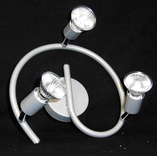 Deckenleuchte paris 3 flammig mit 3 x 50 watt halogen for Deckenleuchte halogen