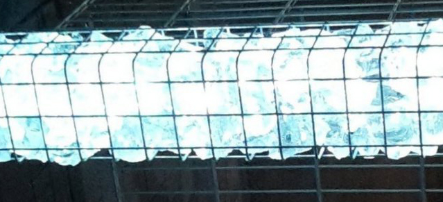 LED Gabionen Leuchte 360° Abstrahlwinkel 0,45 m kaltweiß