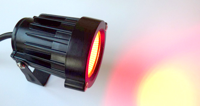 gartenstrahler schwenkbar mit erdspie und stecker led rot 5 watt 260 lumen erdspies lichted. Black Bedroom Furniture Sets. Home Design Ideas
