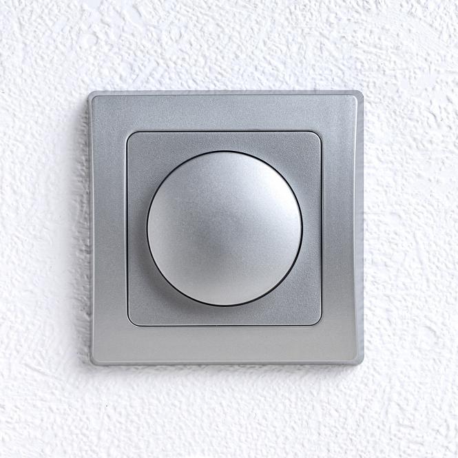 delphi led dimmer unterputz von 7 110 watt silbern leuchten zubeh r elektroartikel. Black Bedroom Furniture Sets. Home Design Ideas