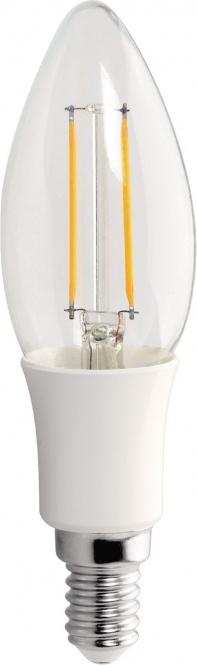 led fadenkerze 3 watt 210 lumen e14 230 volt warmwei leuchtmittel led lampen. Black Bedroom Furniture Sets. Home Design Ideas