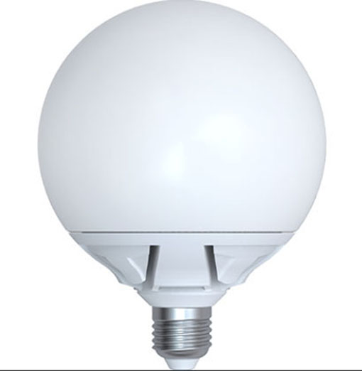 Led globe lampe 25 watt 2130 lumen e27 145 mm warmwei for Lampe 600 watt