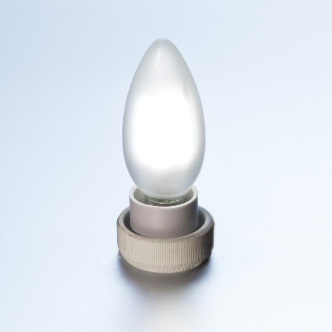 led gl hlampe fadenlampe kerze retro 4 w matt e14 420 lumen kaltwei leuchtmittel led lampen. Black Bedroom Furniture Sets. Home Design Ideas