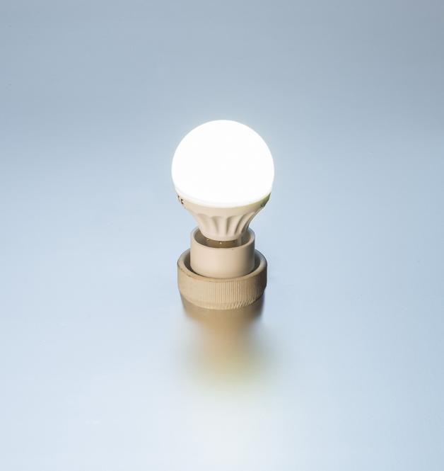 LED Tropfen-Lampe 4 Watt 300 Lumen E27 warmweiß