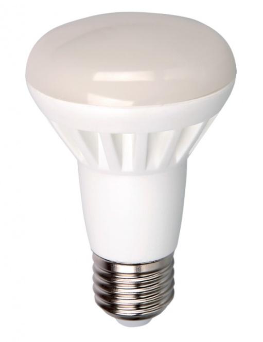 led reflektor lampe r63 8 watt 630 lumen e27 warmwei 230 volt led. Black Bedroom Furniture Sets. Home Design Ideas