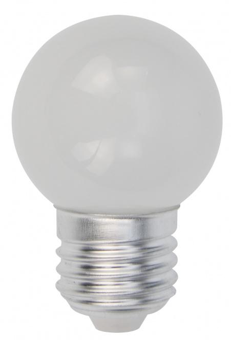 LED Lampe Tropfen E27 1 Watt matt kaltweiß