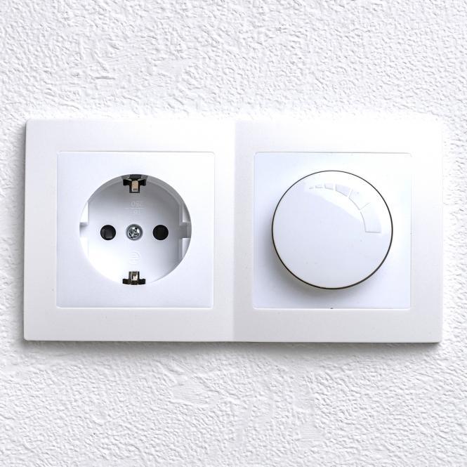 levina kombi steckdose led dimmer leuchten zubeh r elektroartikel. Black Bedroom Furniture Sets. Home Design Ideas