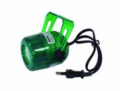 Mini Spot neon grün Sockel GU10 inkl. Leuchtmittel 230 V max.,35 Watt
