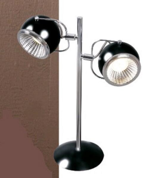 Retro Tisch Lampe 2-flammig, Sockel GU10 Sockel Für LED
