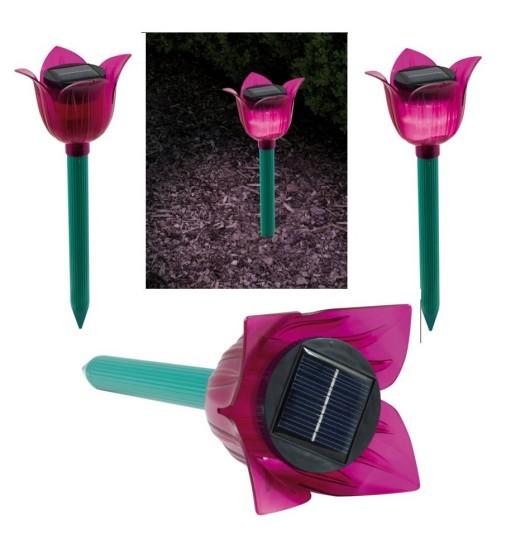 SOLAR Ameisenschock Tulpenform mit LED