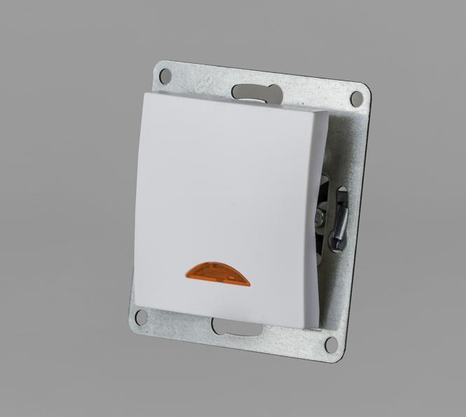 Taster 230 Volt 10 Ampere Einsatz Unterputz | Leuchten Zubehör ...