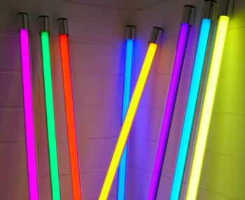 deko led leuchtstab - Bunte Led Lampen