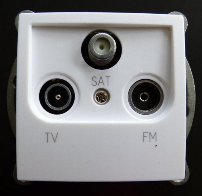 antennendose einsatz tv radio sat antennendose tv sat. Black Bedroom Furniture Sets. Home Design Ideas
