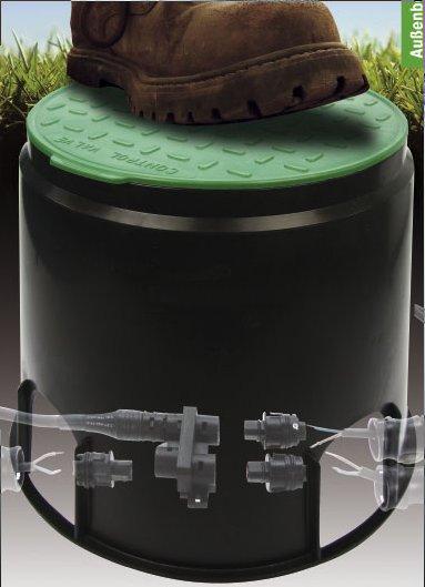 bodeneinbaudose klein f r unterirdischen einbau bodeneinbaudose strahler. Black Bedroom Furniture Sets. Home Design Ideas