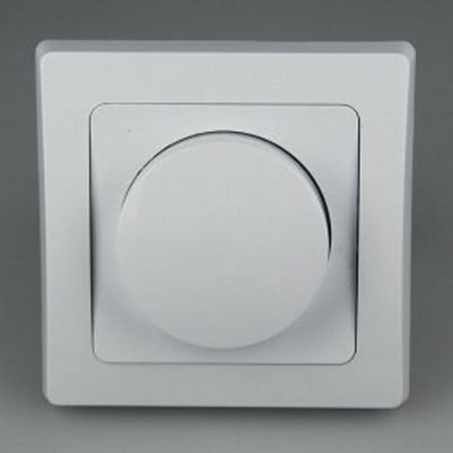 delphi dimmer 20 300 watt mit rahmen wei dimmer im rahmen weiss. Black Bedroom Furniture Sets. Home Design Ideas