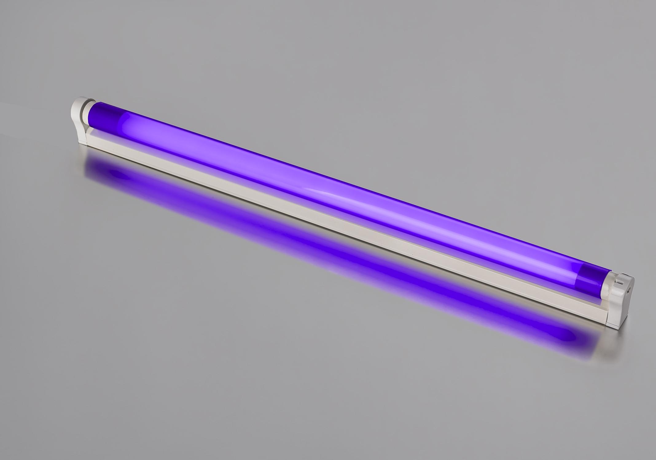 Helt nya LED Armatur 0,60m LED Röhre 10 Watt 900 Lumen violett   Leuchten KO-23
