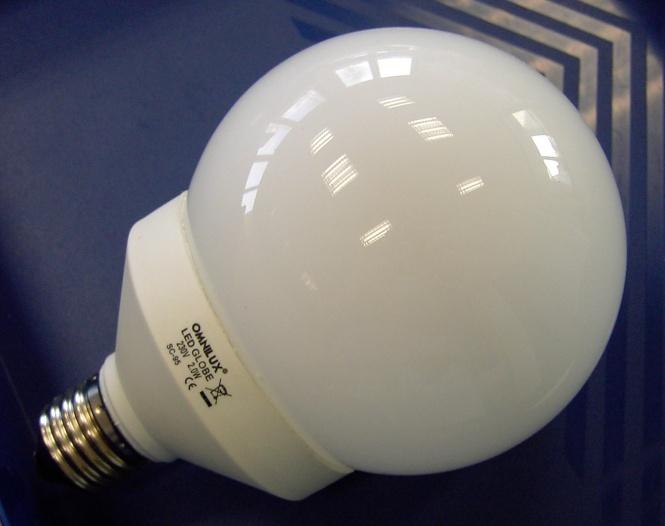 led globe lampe e27 farbwechsel 18 leds leuchtmittel led. Black Bedroom Furniture Sets. Home Design Ideas